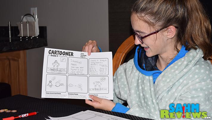 Create cartoons in Mangaka and Cartooner drawing games from Japanime Games. - SahmReviews.com