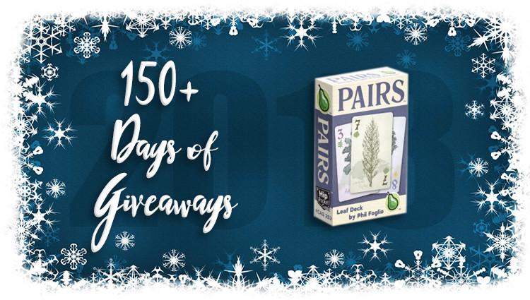 Pairs: Leaf Deck Game Giveaway