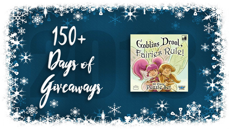 Goblins Drool, Fairies Rule! Puzzle Giveaway