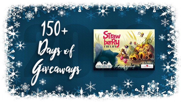 Strawberry Ninja Game Giveaway