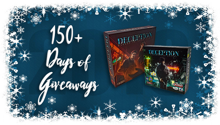 Deception Social Game Package Giveaway