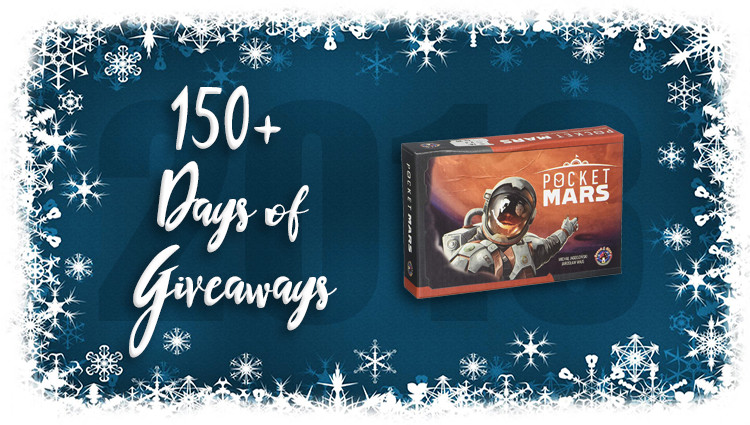 Pocket Mars Game Giveaway
