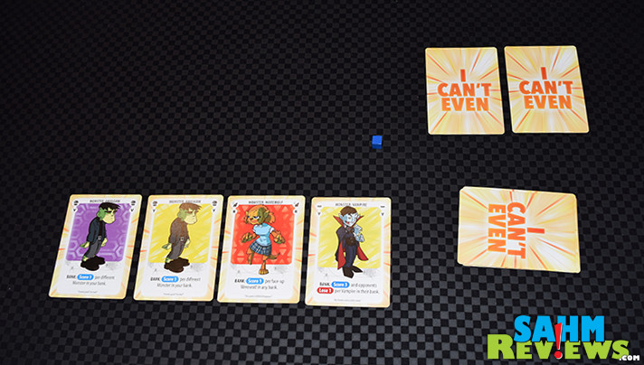 I Can't Even with These Monsters by Level 99 Games is meant to be played alone or combined with others in the series. What makes this card game so special? - SahmReviews.com