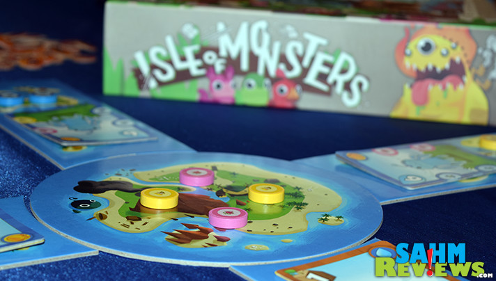 In Isle of Monsters by Mayday Games you must feed your creatures before they'll perform for you. Find out what exactly they'll do once they've matured! - SahmReviews.com