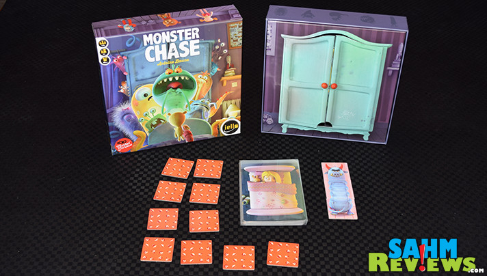 Finally get the upper hand against those monsters under your bed in Monster Chase by iello. But you'll need the help of your friends to succeed! - SahmReviews.com