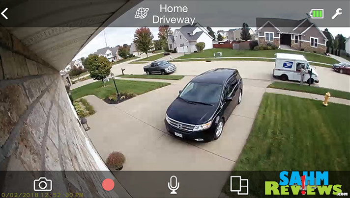 Does your smart home include a home security system? Devices like the Panasonic HomeHawk don't require a service contract and allow you to check on your home from your smart phone. - SahmReviews.com