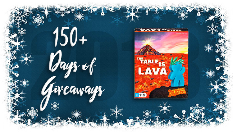 The Table is Lava Game Giveaway