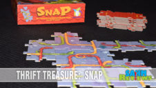Thrift Treasure: Snap Tile Laying Game