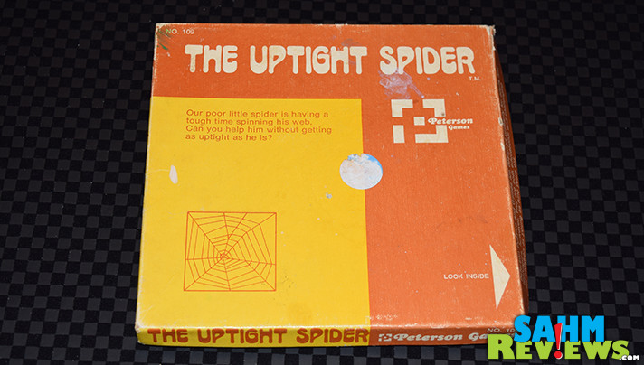 Finally! Another puzzle good enough to actually purchase! Check out The Uptight Spider puzzle we found at our local Goodwill. Did we solve it yet? - SahmReviews.com