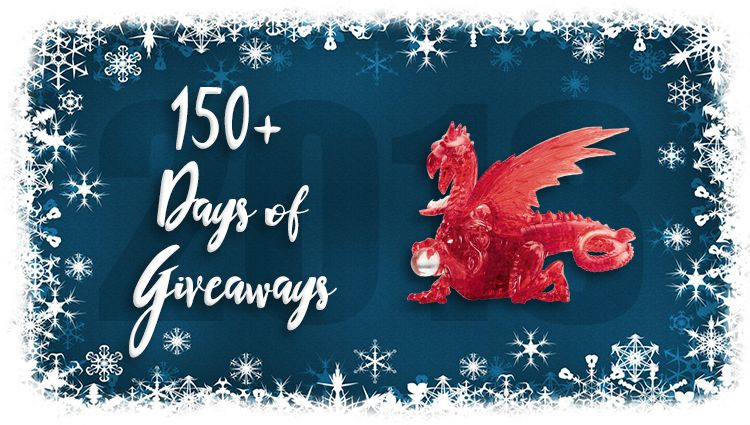 Red Dragon 3D Puzzle Giveaway