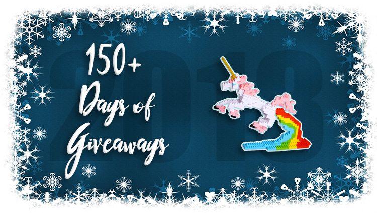 Unicorn 3D Pixel Puzzle Giveaway