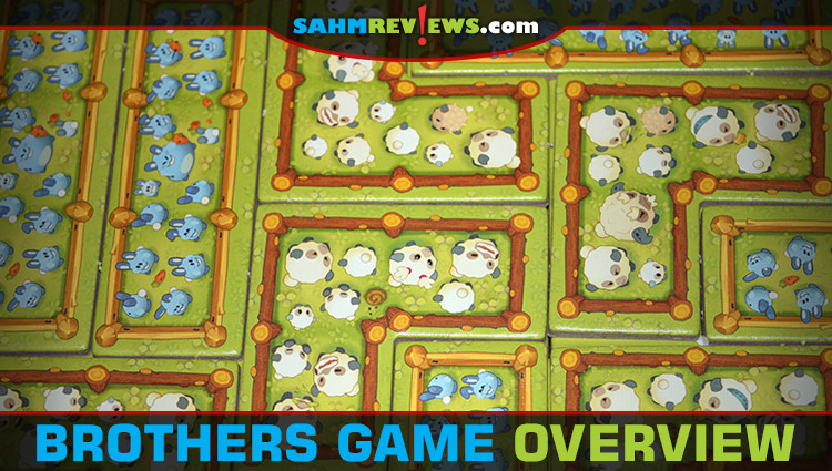 Brothers Tile-Laying Game Overview