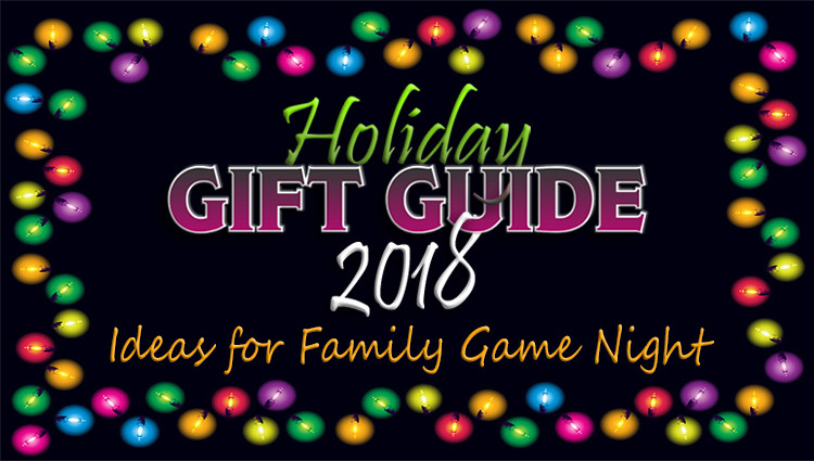 Stock Up This Christmas with Games for Family Game Night