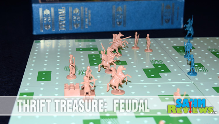 Thrift Treasure: Feudal Bookshelf Game