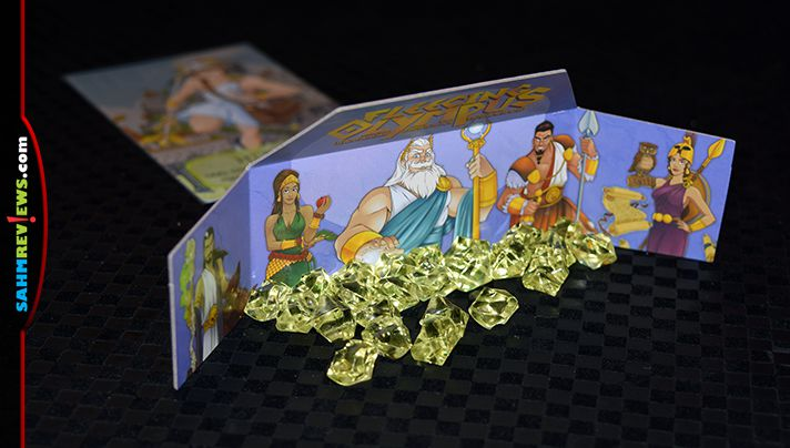 Greek gods and goddesses? Dice rolling and player interaction? Sign us up! See what we thought of Passport Game Studios' new Fleecing Olympus betting game! - SahmReviews.com