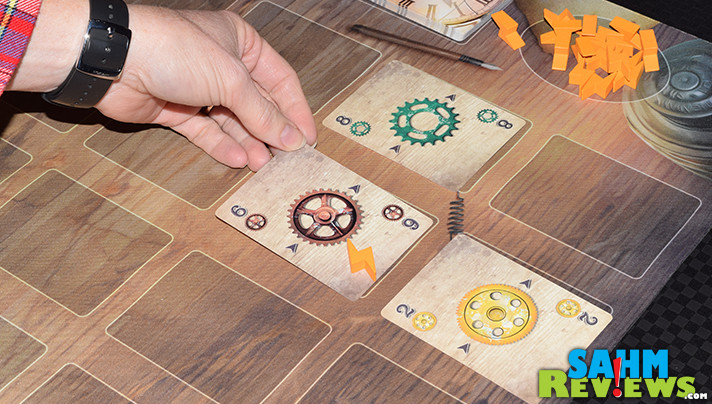 Your gears will be turning as you try to gain resources to complete inventions in GearWorks from PieceKeeper Games. - SahmReviews.com