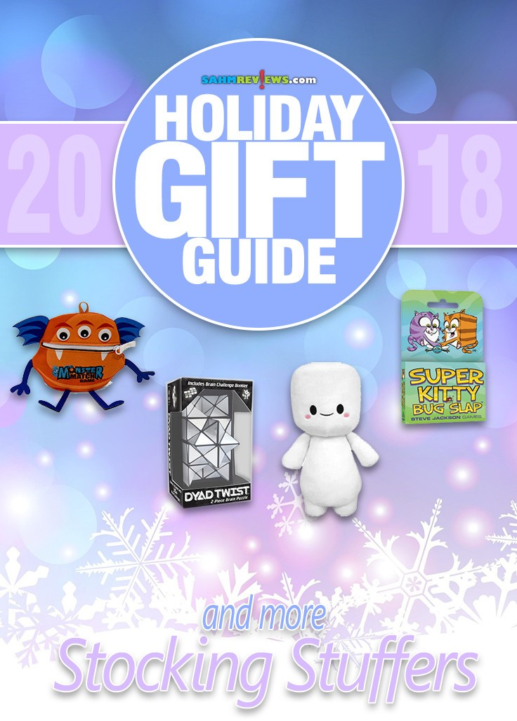 Looking for stocking stuffer ideas? Here are enough suggestions to fill that stocking to the brim! - SahmReviews.com