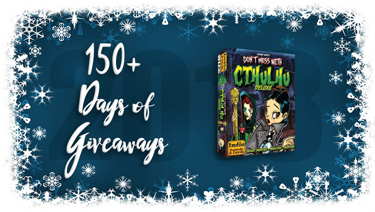 Don't Mess with Cthulhu Deluxe Game Giveaway