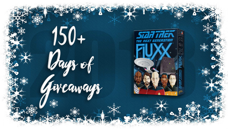 Star Trek: TNG Fluxx Game Giveaway
