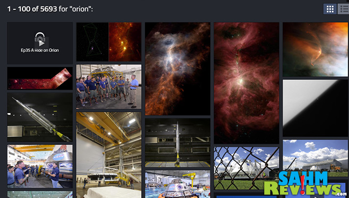 You won't believe the amazing photos, videos, audio and more that are now available for free in NASA's Image Library. Here are just a few examples! - SahmReviews.com