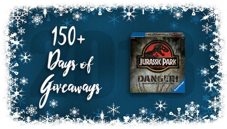 Jurassic Park Danger! Game Giveaway