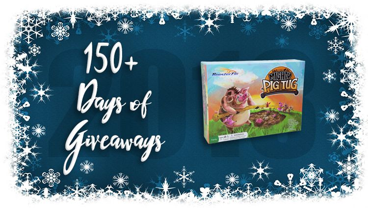 Mighty Pig Tug Game Giveaway
