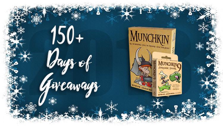 Munchkin & Munchkin 9 Game Giveaway