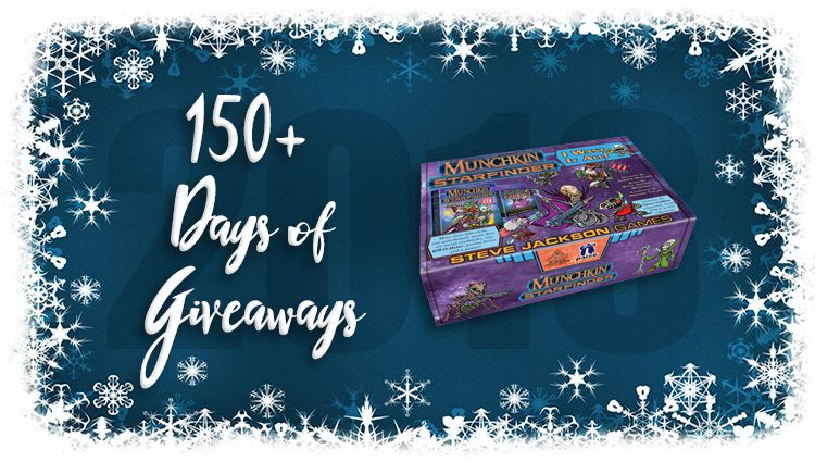 Munchkin Starfinder: I Want It All Game Giveaway