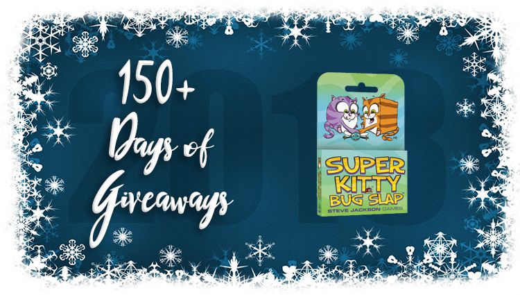 Super Kitty Bug Slap Game Giveaway