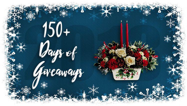 Teleflora Christmas 2019.Teleflora 75 Gift Code Giveaway