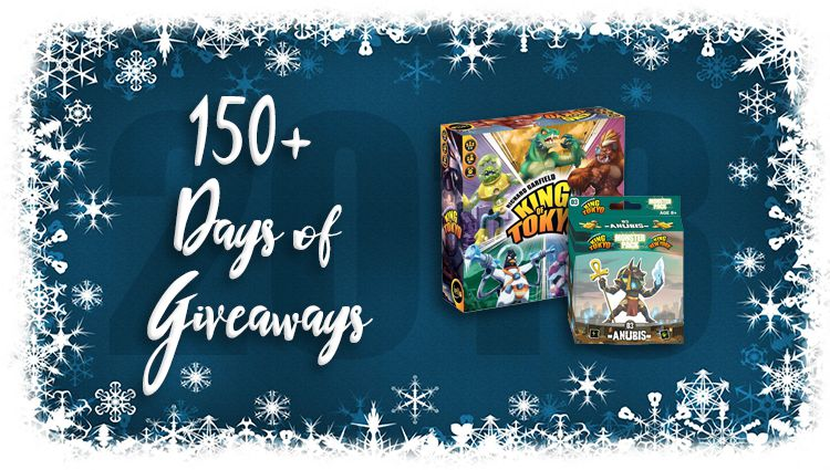 King of Tokyo Game + Anubis Add-on Giveaway