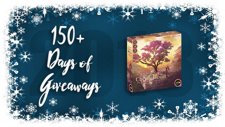 The Legend of the Cherry Tree Game Giveaway