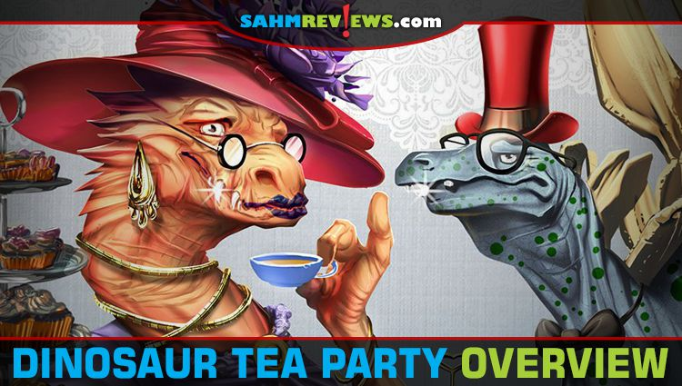 Dinosaur Tea Party Game Overview