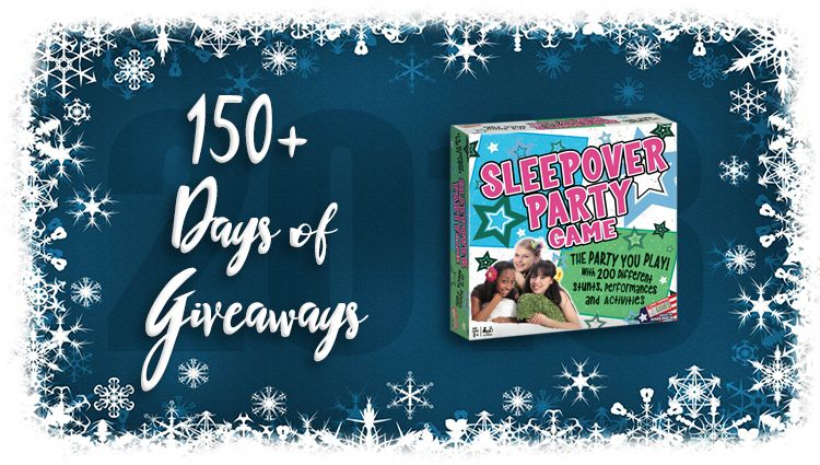Sleepover Party Game Giveaway