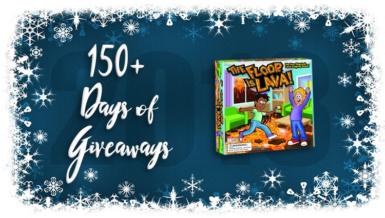 The Floor is Lava Game Giveaway