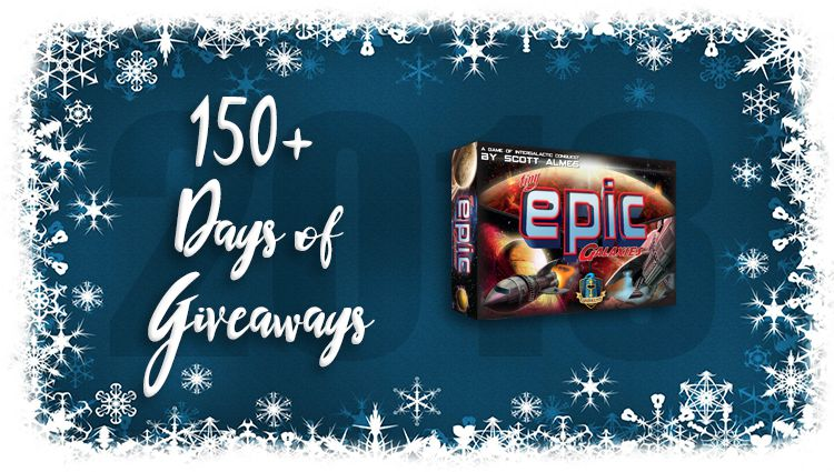 Tiny Epic Galaxies Game Giveaway