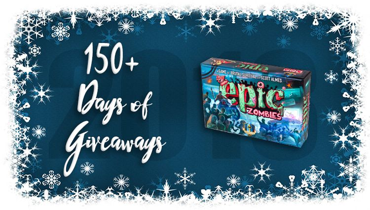 Tiny Epic Zombies Game Giveaway