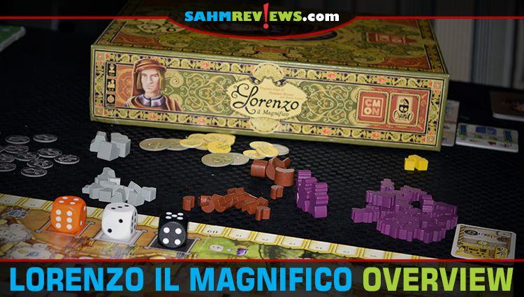 Lorenzo Il Magnifico Game Overview