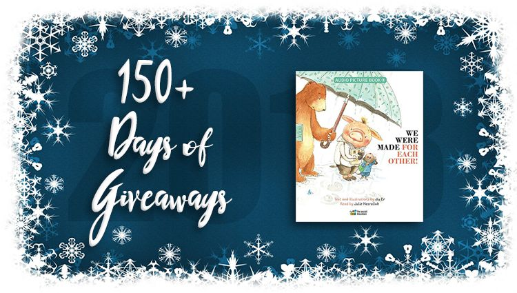 We Were Made for Each Other Audio Picture Book Giveaway