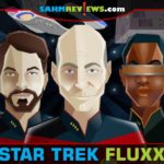 Even if you're not a huge Star Trek fan, you'll love the new things introduced in Star Trek Fluxx and Star Trek: TNG Fluxx by Looney Labs! - SahmReviews.com