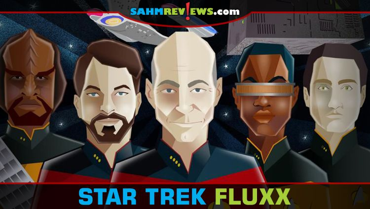 Star Trek Fluxx & ST: TNG Fluxx Released!