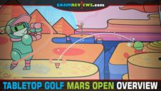 Tabletop Golf: Mars Open Game Overview