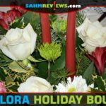 Add the gift of flowers to your holiday shopping list with a Christmas bouquet from Teleflora. - SahmReviews.com