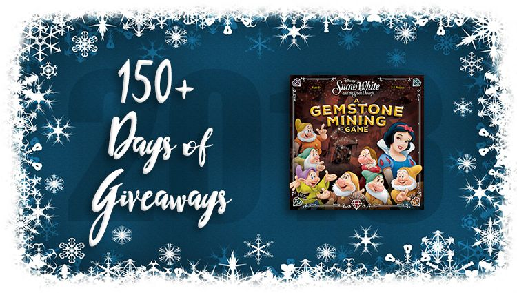 Disney Snow White Gemstone Mining Game Giveaway