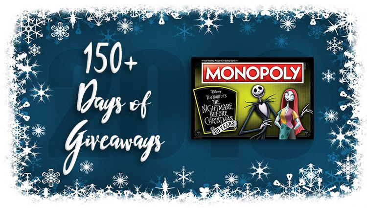 Monopoly: Nightmare Before Christmas Game Giveaway