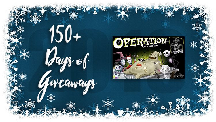 Operation: Nightmare Before Christmas Game Giveaway