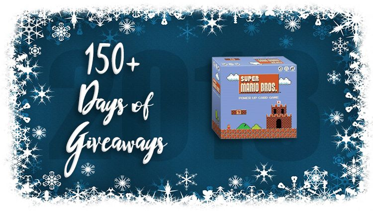 Super Mario Power Up Game Giveaway