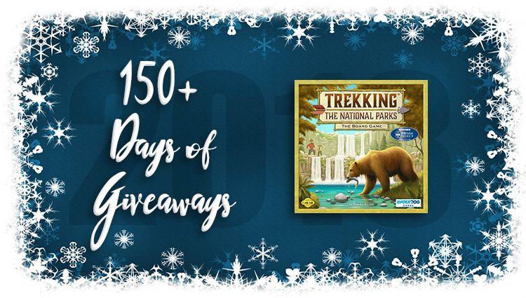 Trekking the National Parks Game Giveaway