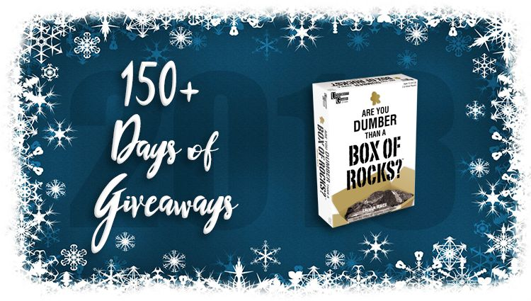 Are You Dumber Than a Box of Rocks? Game Giveaway