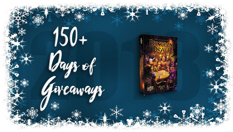 Dungeon Draft Game Giveaway